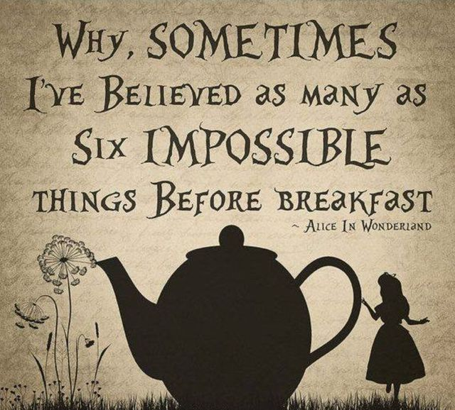 Believing the Impossible